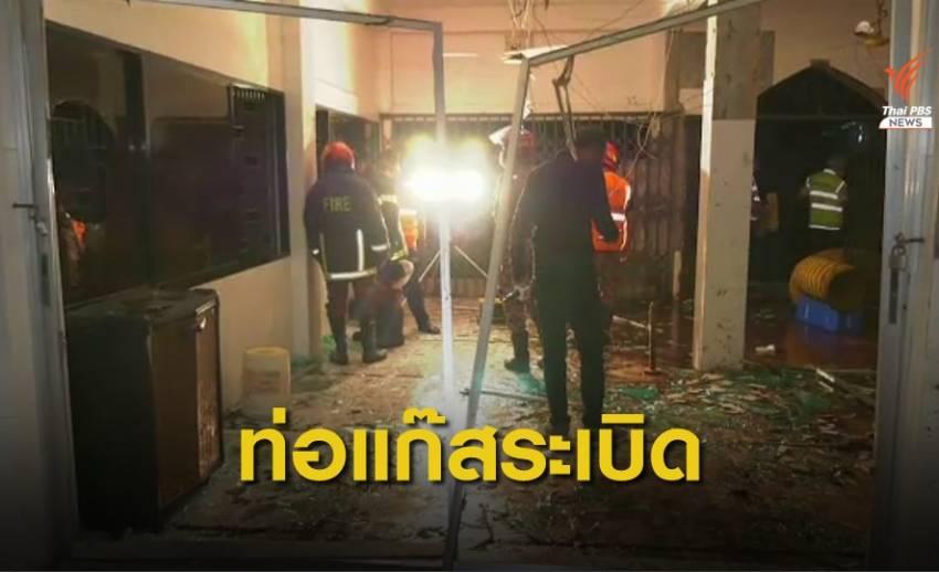 ท่อแก๊สใต้ดินระเบิดใกล้มัสยิดบังกลาเทศ เจ็บ 37 คน