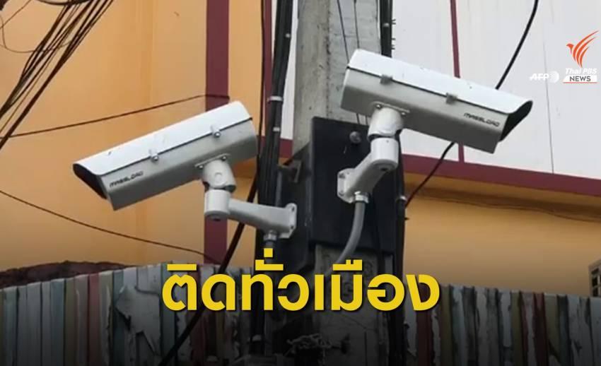"""""""หัวหิน"""" ติดกล้อง CCTV 116 จุด ใช้ระบบค้นหาใบหน้า-ทะเบียนรถ"""