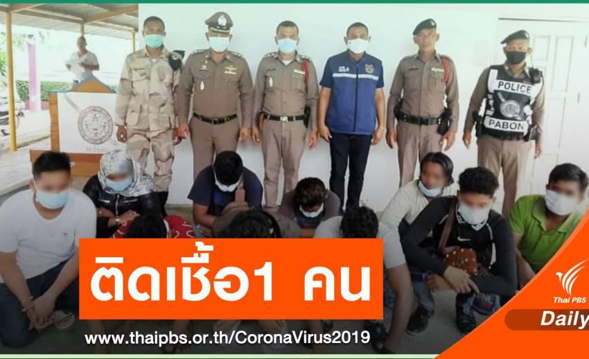 """""""พัทลุง"""" พบแรงงานเมียนลักลอบเข้าไทย 1 คนติด COVID-19"""
