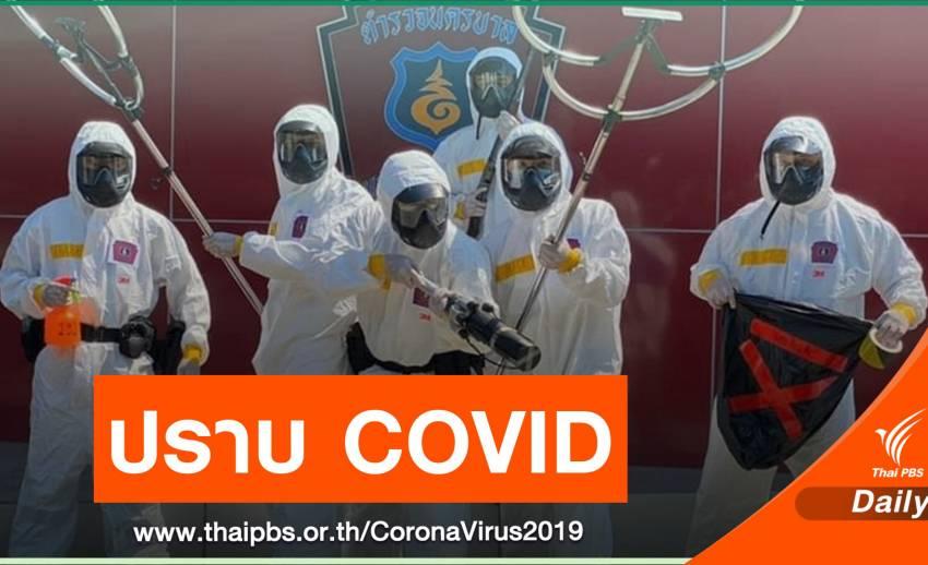 ตร.จัดทีมรอรวบกลุ่มเสี่ยง COVID-19 ที่มีพฤติกรรมแพร่เชื้อ