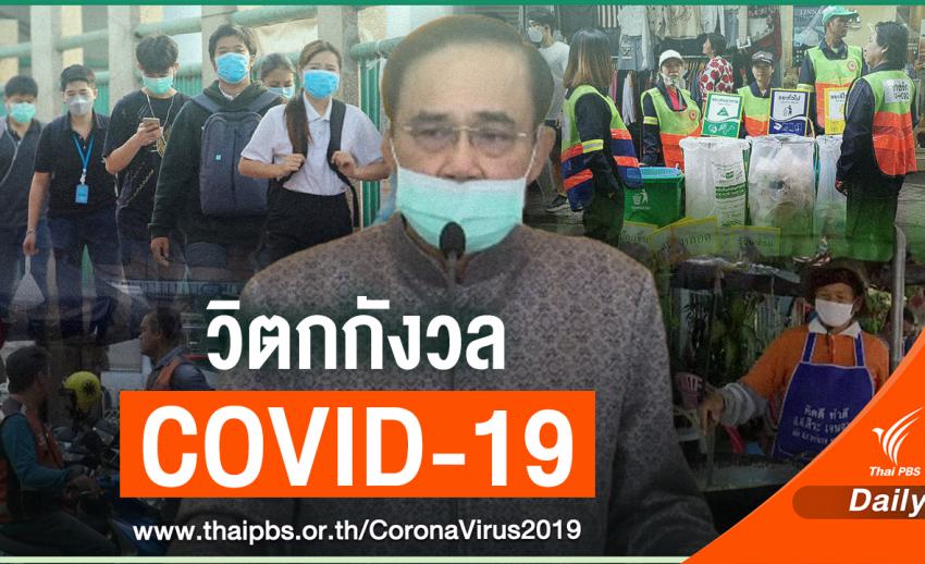 ผลสำรวจพบ คนไทย 36.09% ไม่ค่อยมั่นใจรัฐบาลจัดการ COVID-19