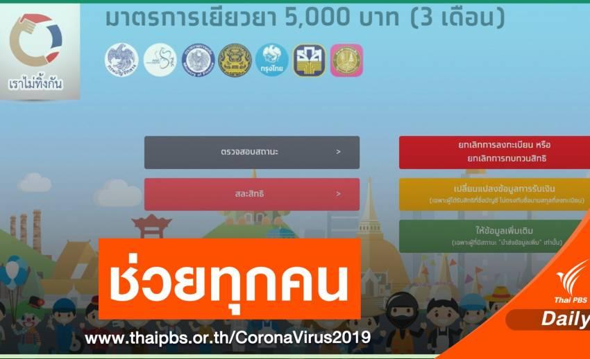 คลังเชื่อรัฐบาลช่วยคนไทยทุกคนจากผลกระทบ COVID-19 แล้ว