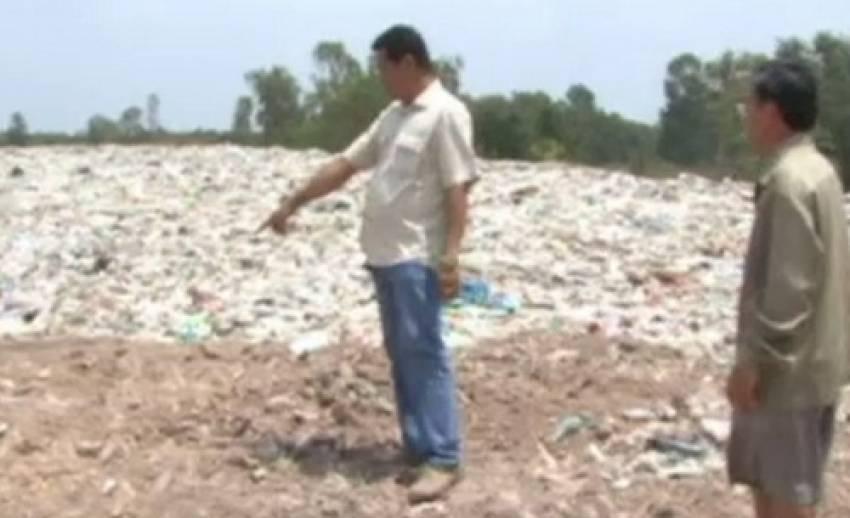 ชาวบ้านศรีสะเกษ คัดค้านสร้างบ่อกำจัดขยะติดเชื้อ หวั่นกระทบชุมชน