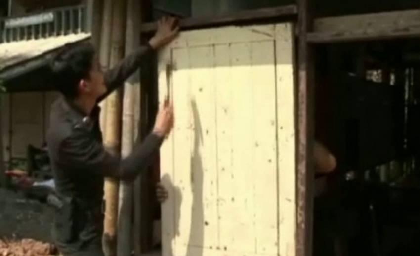 ตำรวจเชียงรายระดมกำลังสร้างโรงพักชั่วคราว