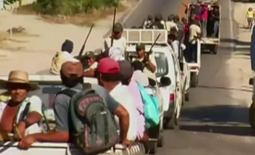 กองกำลังติดอาวุธเม็กซิโกจับกุมหัวหน้าตำรวจส่งทางการ