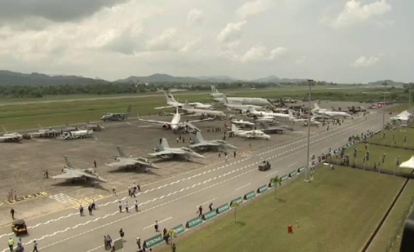 กองทัพอากาศไทย ส่งเครื่องบินขับไล่กริพเพนร่วม ร่วมงานแอร์โชว์มาเลเซีย
