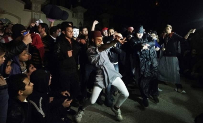 อียิปต์เต้นฮาร์เลมเชคประท้วงรัฐบาล