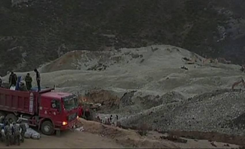 เกิดเหตุดินถล่มเหมืองทองคำในทิเบต วานนี้
