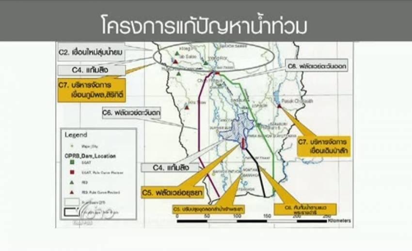 """""""ไจก้า"""" จัดทำร่างแผนจัดการน้ำตามที่รัฐบาลไทยร้องขอ ระบุไม่ต้องสร้างทุกโครงการ"""