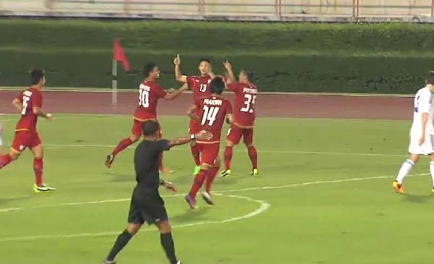 ทีมซีเกมส์ไทยอุ่นเครื่องชนะทีมอ่อนชั้น