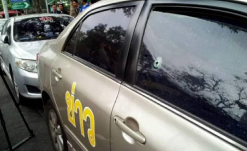 คนร้ายยิงรถข่าวเอเอสทีวี 4 คัน - ไม่มีผู้ได้รับบาดเจ็บ