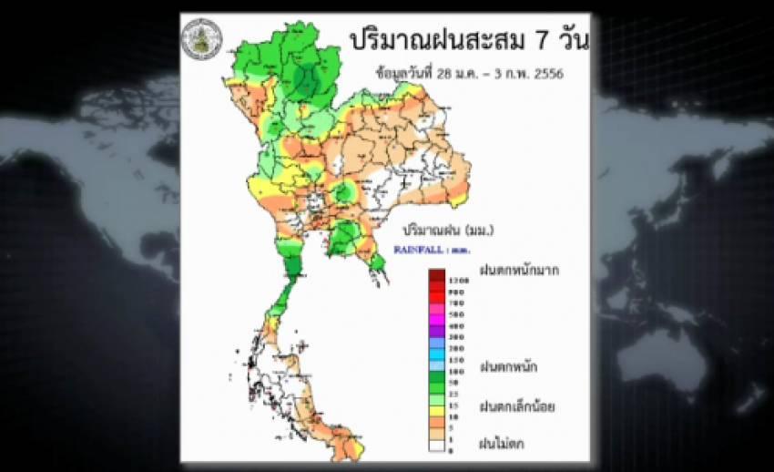 พบจังหวัดประสบปัญหาฝนทิ้งช่วง-ภัยแล้ง 27 จังหวัด ส่วนใหญ่เป็นภาคอีสาน