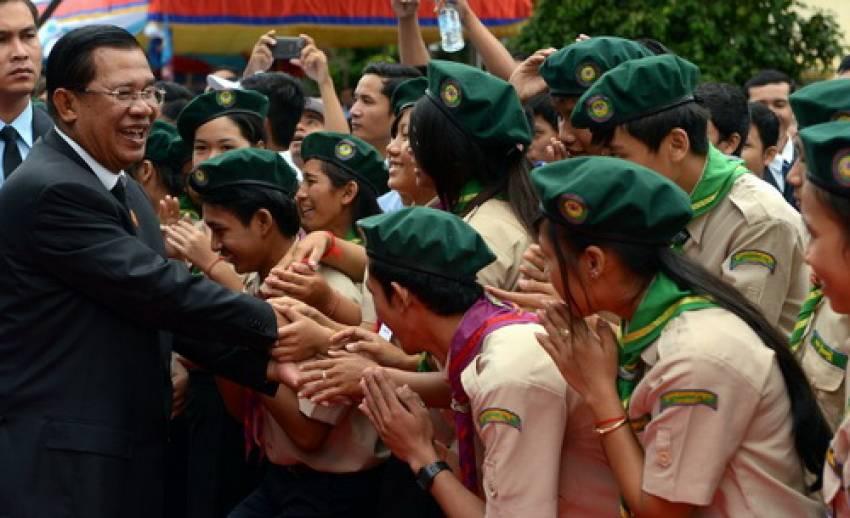 """พรรคซีพีพีกัมพูชาจัดฉลองครบรอบ 34 ปี """"เขมรแดง""""ถูกโค่นอำนาจ"""