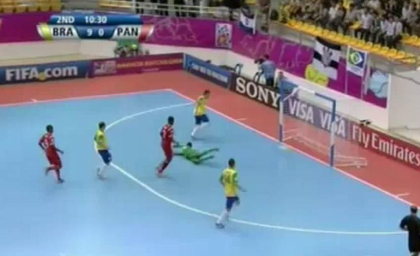 บราซิล ถล่ม ปานามา 16-0 ฟุตซอลชิงแชมป์โลก
