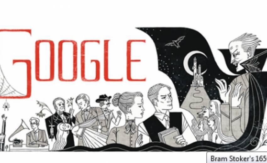 """กูเกิลรำลึก 165 ปี """"บราม สโตกเกอร์"""" เจ้าของผลงาน """"แดรกคิวลา"""""""