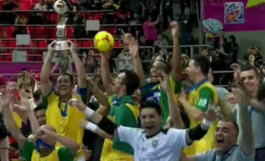 """""""บราซิล"""" คว้าแชมป์ฟุตซอลโลก"""