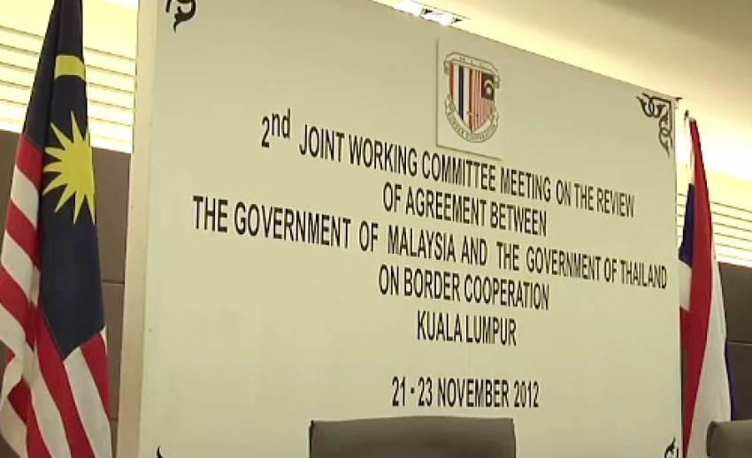 การแก้ไขข้อตกลงความร่วมมือชายแดนไทย-มาเลเซีย ยังไร้ข้อสรุป