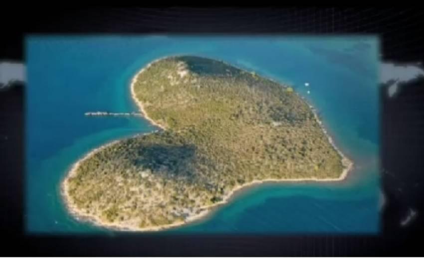 เกาะรูปร่างเเปลกตา สวยงามตามธรรมชาติ