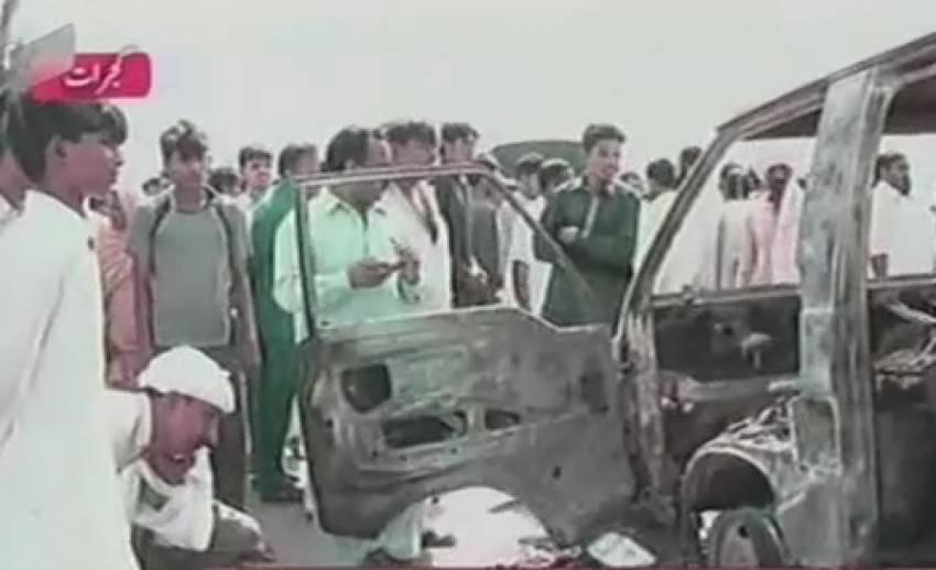 ถังแก๊สรถโรงเรียนระเบิดในปากีสถาน เสียชีวิต 17 คน