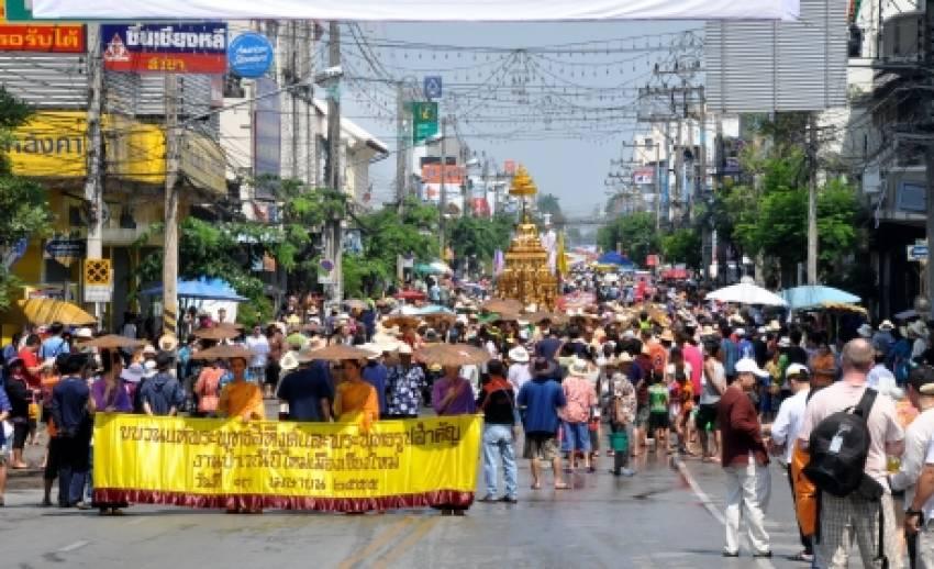เล่าขานตำนานสงกรานต์ไทย กับเกร็ดน่ารู้ในงานเทศกาลสงกรานต์ 2556