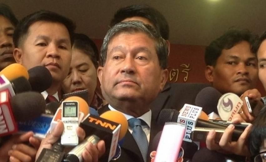 """""""เฉลิม""""ปฏิเสธให้ความเห็นเพื่อไทยส่ง""""สุดารัตน์""""ลงเลือกตั้งซ่อมแทน""""การุณ"""""""