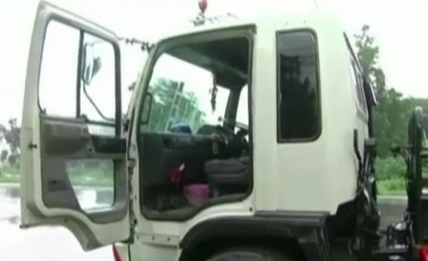 ตำรวจนครราชสีมาตั้งชุดติดตามคนร้ายปล้นรถบรรทุกน้ำมัน