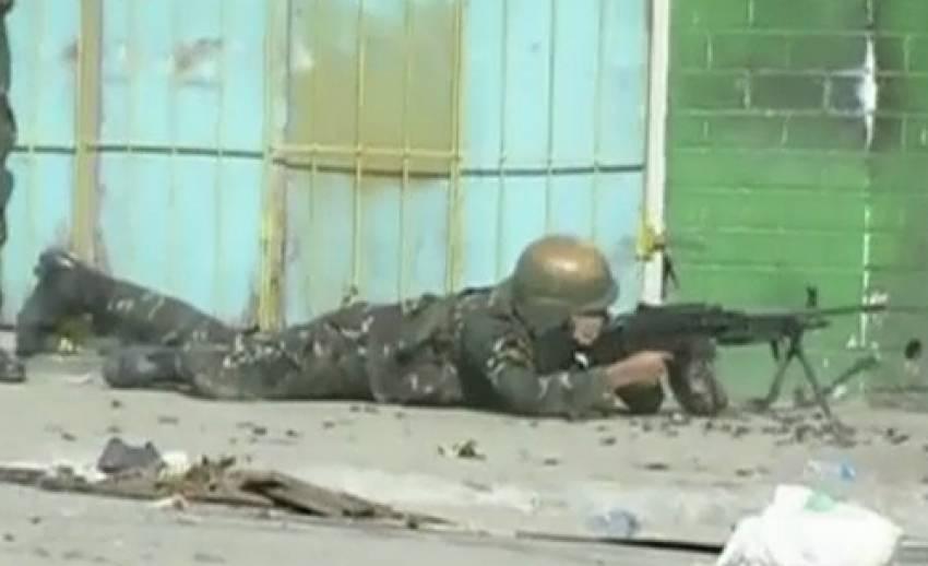 กลุ่มกบฎเมโรปะทะกันปะทะทหารในฟิลิปปินส์ เป็นวันที่ 4