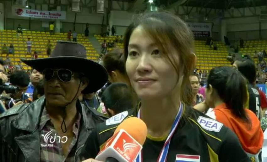 วอลเลย์บอลสาวไทยตั้งเป้าคว้าตั๋วลุยศึกโอลิมปิก 2016