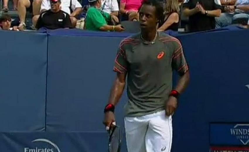 """""""มงฟิลส์"""" ผ่านเข้าชิงชนะเลิศ เทนนิส วินส์ตัน โอเพ่น"""