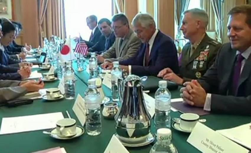 รัฐมนตรีกลาโหมสหรัฐฯ หารือกับญี่ปุ่น-เกาหลี