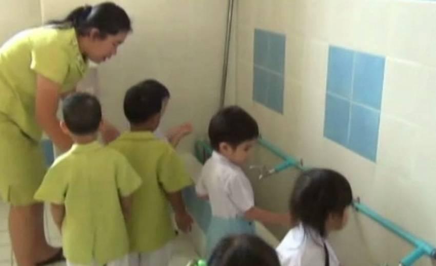 เตือนสถานศึกษาในภาคเหนือเฝ้าระวังเด็กป่วยโรคมือ เท้า ปาก