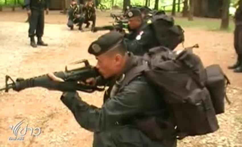 ฝึกกำลังพลอาสาสมัครทหารพรานกำลังพลใหม่ จ.ตาก
