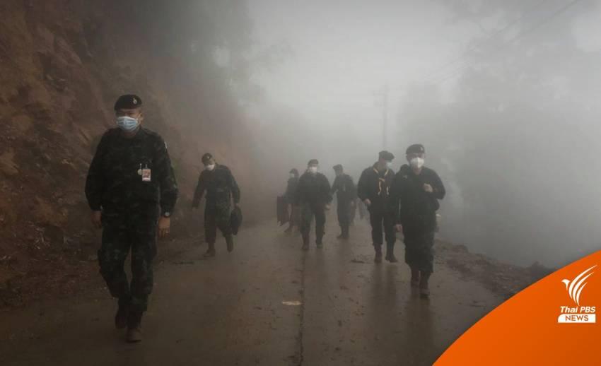 กองทัพบกซีลชายแดน หนุนรัฐบาลเปิดประเทศ