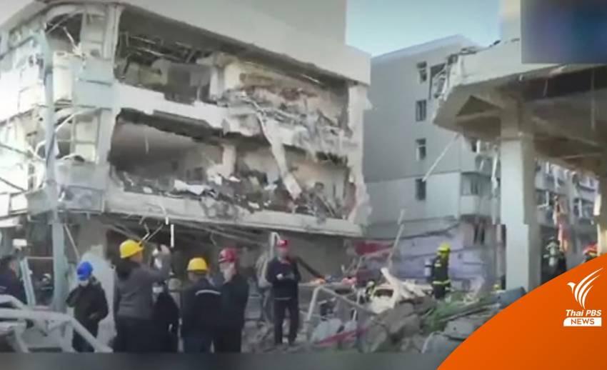 กู้ภัยจีน เร่งค้นหาผู้รอดชีวิต จากเหตุแก๊สระเบิด