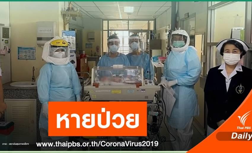 ข่าวดี! ทารกอายุ 5 วันที่ติด COVID-19 หายป่วยแล้ว