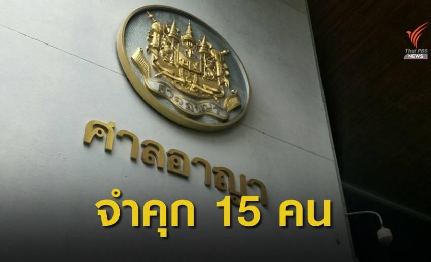 ศาลสั่งจำคุกอดีตกรรมการ-นักฟุตบอลไทยลีก คดีล้มบอล