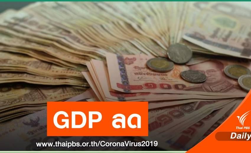 ม.หอการค้าไทย ชี้โควิดรอบใหม่ฉุด GDP ปีนี้โตเหลือร้อยละ 1.6