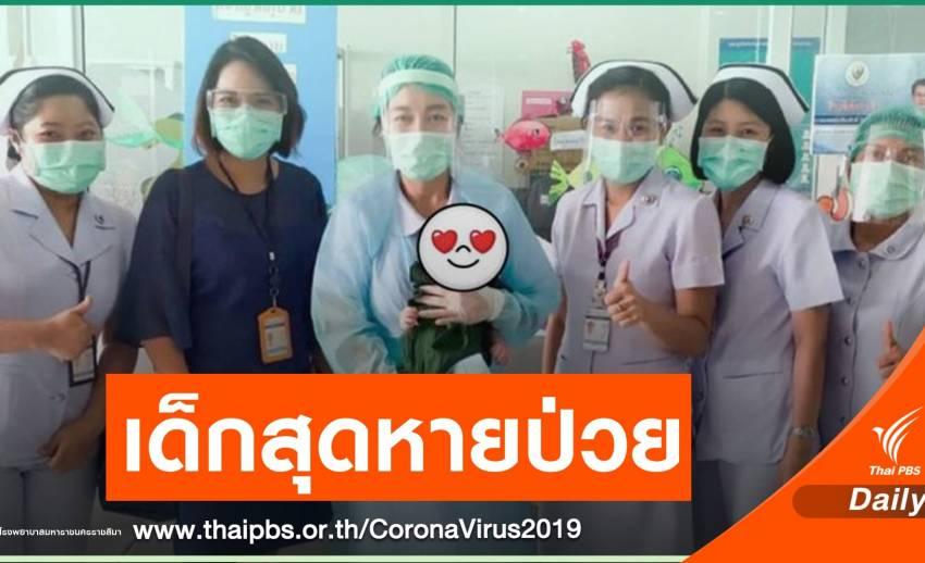"""""""โคราช"""" เด็กอายุ 20 วันหายป่วย COVID-19 ตาย 1 ชายวัย 89 ปี"""