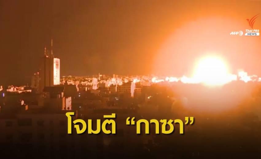 """""""อิสราเอล"""" เดินหน้าโจมตีเขตกาซาเข้าสู่สัปดาห์ที่ 2"""