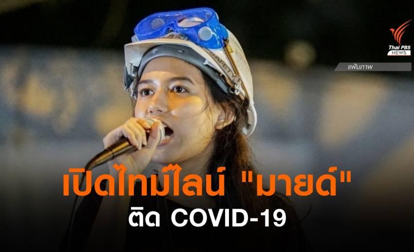"""""""มายด์ ภัสราวลี"""" ติด COVID-19 พร้อมเปิดไทม์ไลน์"""