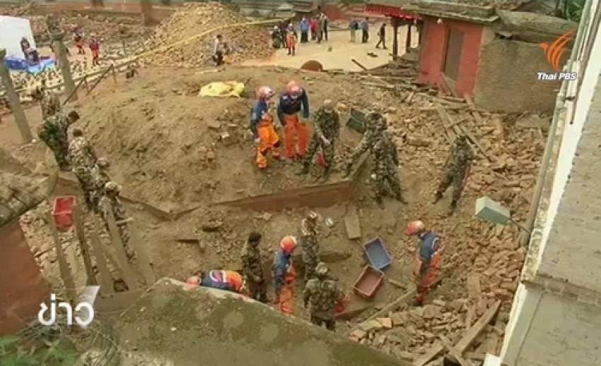 ทีมกู้ภัยญี่ปุ่นเริ่มภารกิจในเนปาล ยอดผู้เสียชีวิตพุ่ง 5,000 คน