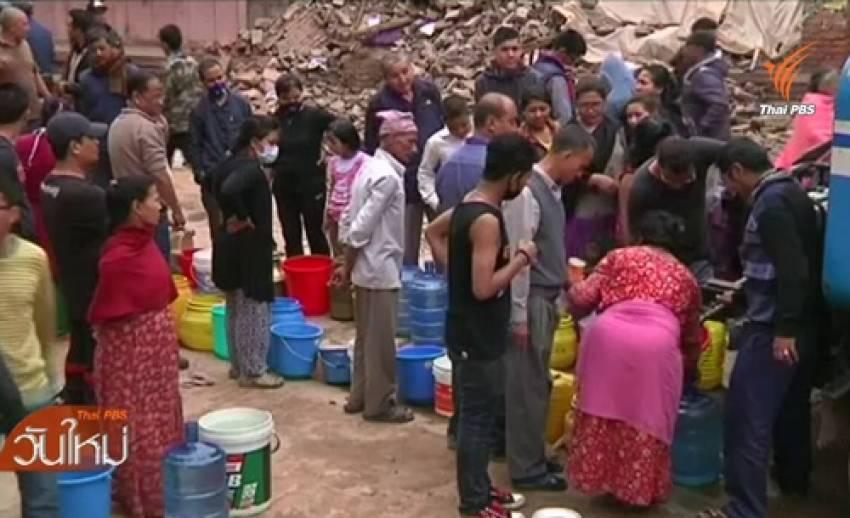 แผนจัดการเหตุแผ่นดินไหวเนปาล