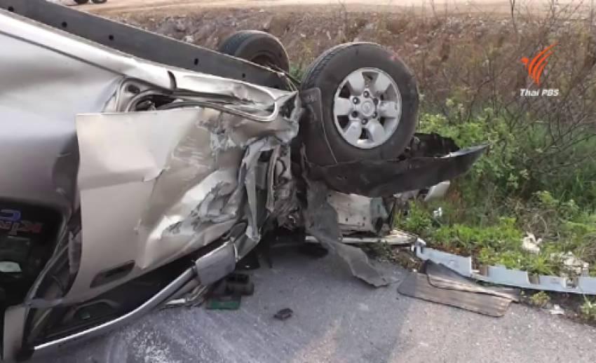 อุบัติเหตุวันสงกรานต์เพิ่มสูงและรุนแรงมากขึ้น