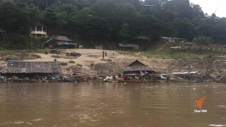 ท่าเรือแม่สามแลบ ให้บริการเดินเรือขึ้น-ล่อง ในแม่น้ำสาละวินตั้งแต่ 08.00 - 17.00 น.