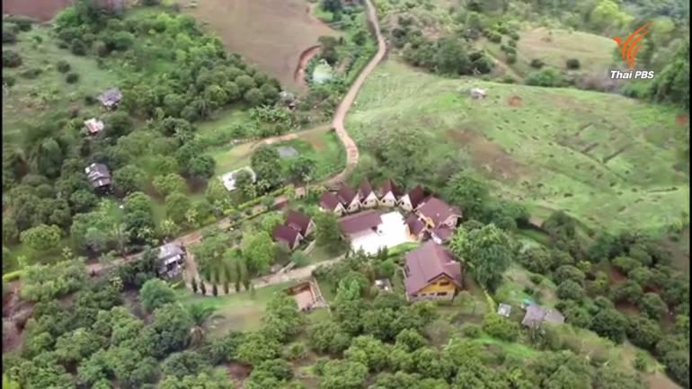 บ้านพักและรีสอร์ทบริเวณหุบเขาไฮโซ อ.หางดง จ.เชียงใหม่ (2)