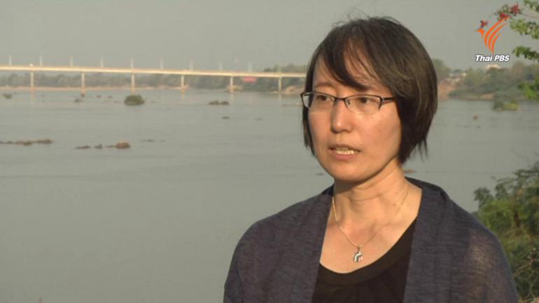 ยูกะ คิกูชิ ผู้อำนวยการ Mekong Watch ผู้ติดตามศึกษาผลกระทบจากโครงการเขื่อนในแม่น้ำโขง