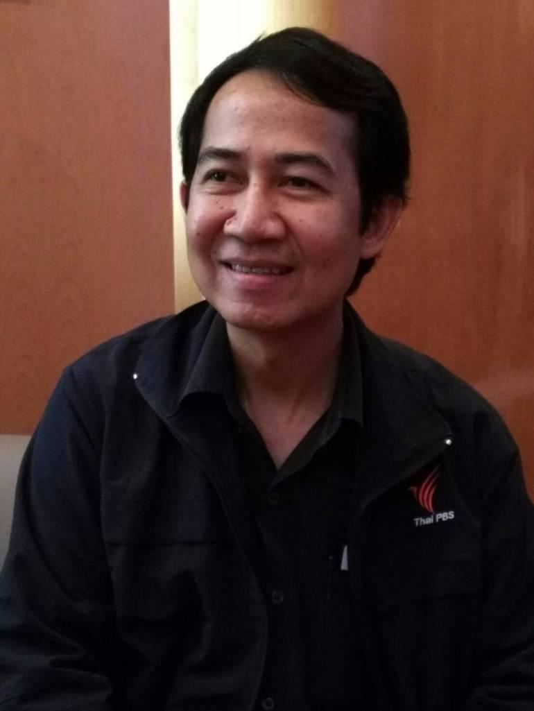 นายนิติธร ทองธีรกุล ผู้จัดการโครงการสมุยสะอาด ไทยพีบีเอส