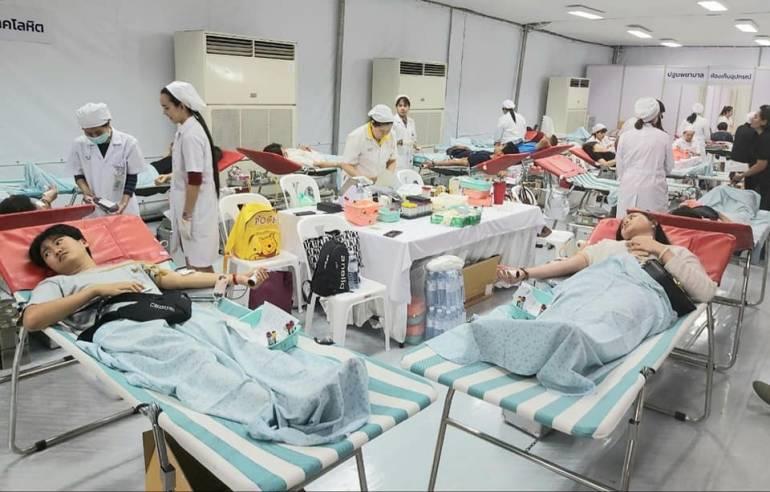 ภาพ : ศูนย์บริการโลหิตแห่งชาติ สภากาชาดไทย