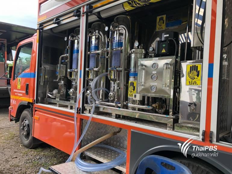 รถผลิตน้ำดื่ม ผลิตได้ 1,000 ลิตรต่อชั่วโมง