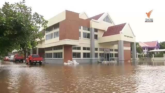 , น้ำท่วม อ.พิมาย ยังน่าห่วง ระดับน้ำมูลเพิ่มขึ้น 10 ซม.